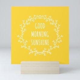 Good Morning Sunshine Mini Art Print