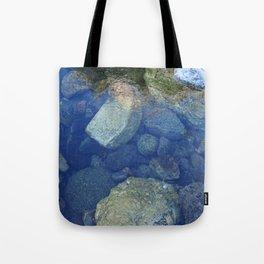 Rocks Under Water I Tote Bag