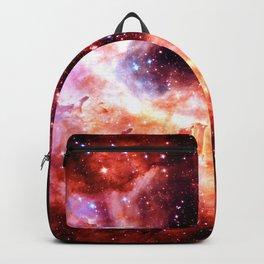 Celestial Fireworks Red Orange Backpack