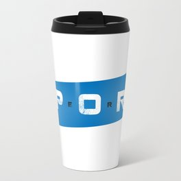 Sport Hero Dynamic Style Blue Travel Mug