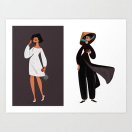 Saigon Ladies  Art Print