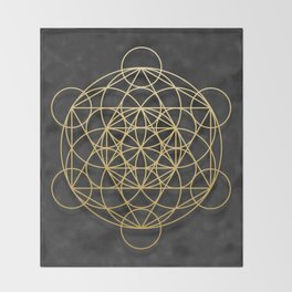 Merkaba Throw Blanket