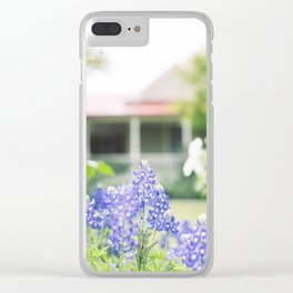 Brenham Bluebonnets - Brenham, Texas Clear iPhone Case