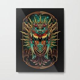 Sowl Keeper - Metal Print