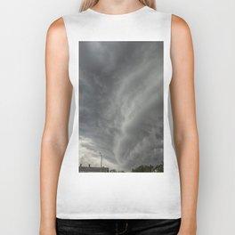 Cloud Wall Turning Biker Tank