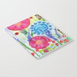 English Garden Notebook