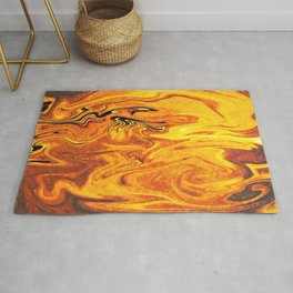 Abstract Painting X 5 Rug