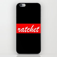 ratchet | Typography iPhone & iPod Skin