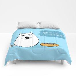 Wifi Cat Comforters