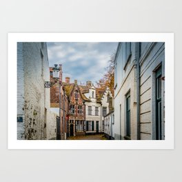 Home Medieval Style | Netherlands Architecture #3 | Street Photography Art Print