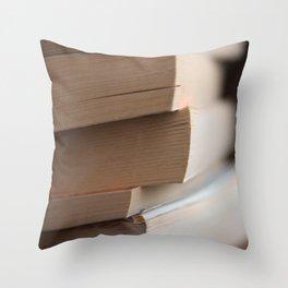 Books #5 Throw Pillow