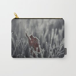 Maple Leaf Hoarfrost Carry-All Pouch