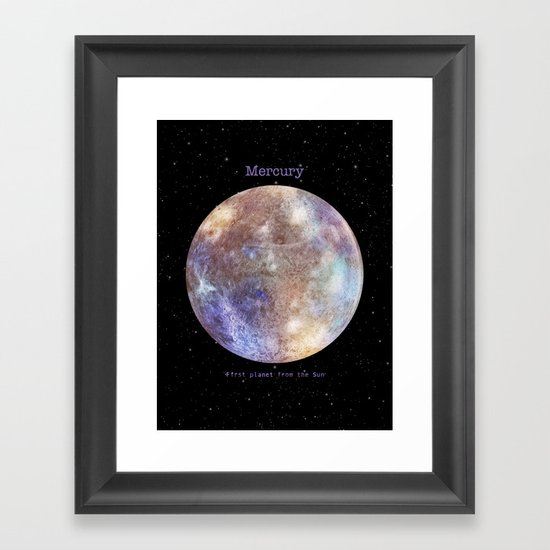 Mercury Framed Art Print