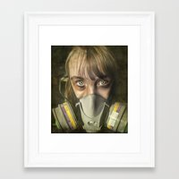 apocalypse now Framed Art Prints featuring Apocalypse by Bruce Stanfield Photographer