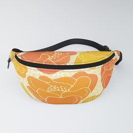 Summer Poppies Fanny Pack