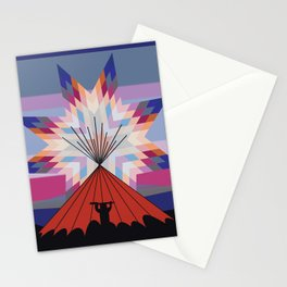 American Native Pattern No. 75 Stationery Cards