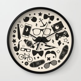 men's accessories Wall Clock