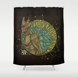 Flora Colossus Shower Curtain