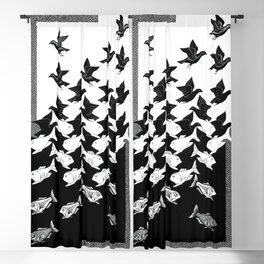 Maurits Cornelis Escher - Sky and Water 2 Blackout Curtain