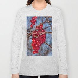 Grapes Schisandra autumn Long Sleeve T-shirt
