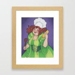 Betty Botter's Butter Framed Art Print