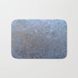 The freezing glass. Bath Mat