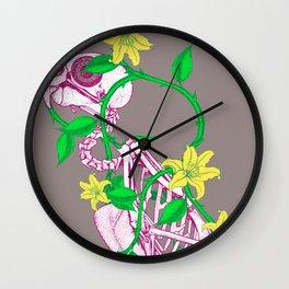 Deathvslife4 Wall Clock