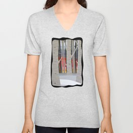 A Beautiful Sunset that was Mistaken for the Dawn Unisex V-Neck