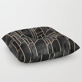 Black Skies Floor Pillow