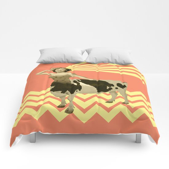 The real girly cow girl Comforters