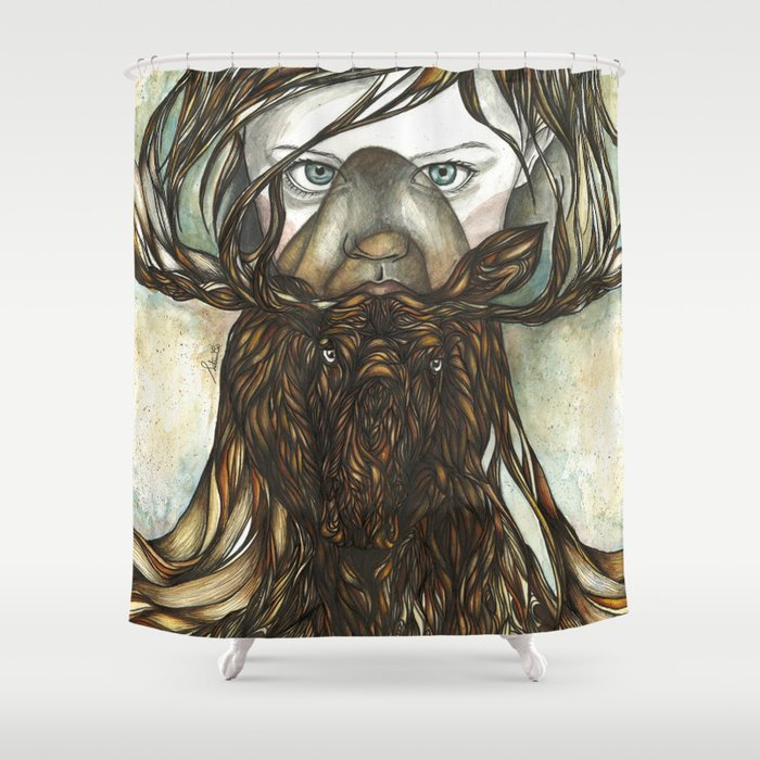 Roots II Shower Curtain