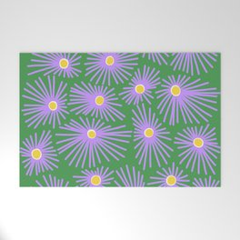New England Asters Welcome Mat