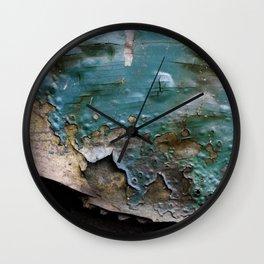 Teal Peal IV Wall Clock