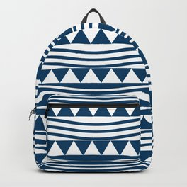 navy style Backpack