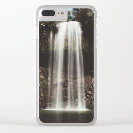 Tropical Waterhole Clear iPhone Case