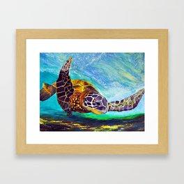 For the love of Michael Angelo Framed Art Print