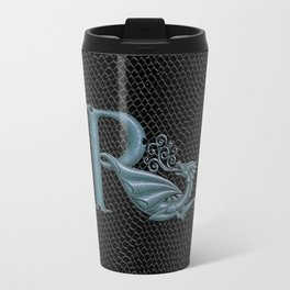 "Dragon Letter R, from ""Dracoserific"", a font full of Dragons Travel Mug"