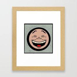 The Laughing Man Framed Art Print