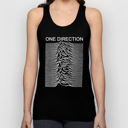 One Direction / Joy Division's Unknown Pleasures Unisex Tank Top