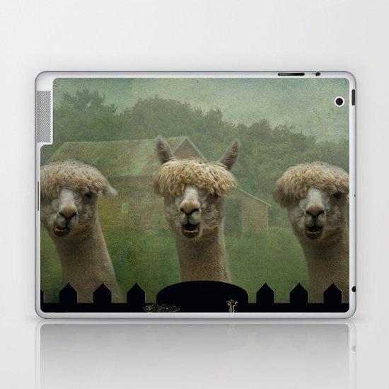 Alpaca Farm Laptop & iPad Skin
