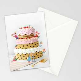 Real Life Delicious Cookie Fairy Cake Stationery Cards