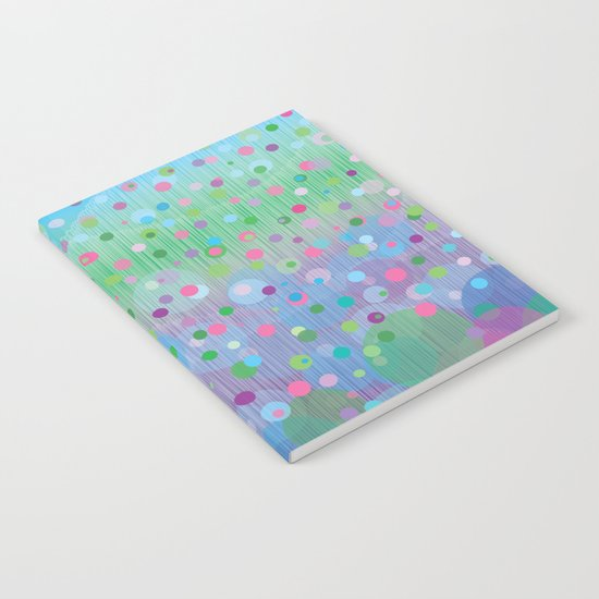 Colorful Rain Notebook