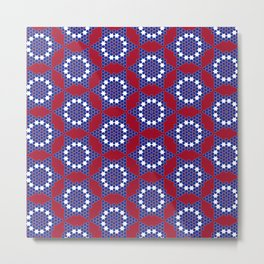 Patriot Star Metal Print
