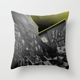 Hip hop Chess Wall Throw Pillow