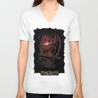 berserk V-neck T-shirts featuring Children In the Wood by TheMagicWarrior