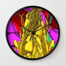 AUTOMATIC WORM 4 Wall Clock