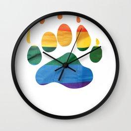 Fam Claw (LGBT) Wall Clock