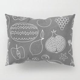 Fruity Chalkboard Pillow Sham