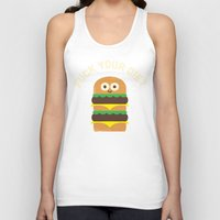 fleetwood mac Tank Tops featuring Discounting Calories by David Olenick