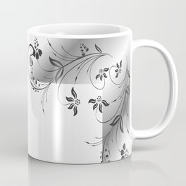 Abstract floral frame Coffee Mug
